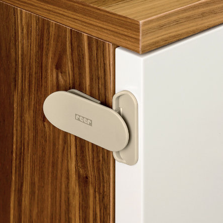 REER DesignLine Electronic Appliance Lock taupe