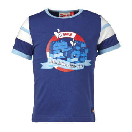 LEGO WEAR Duplo Boys T-shirt TOD 405, adventure blue