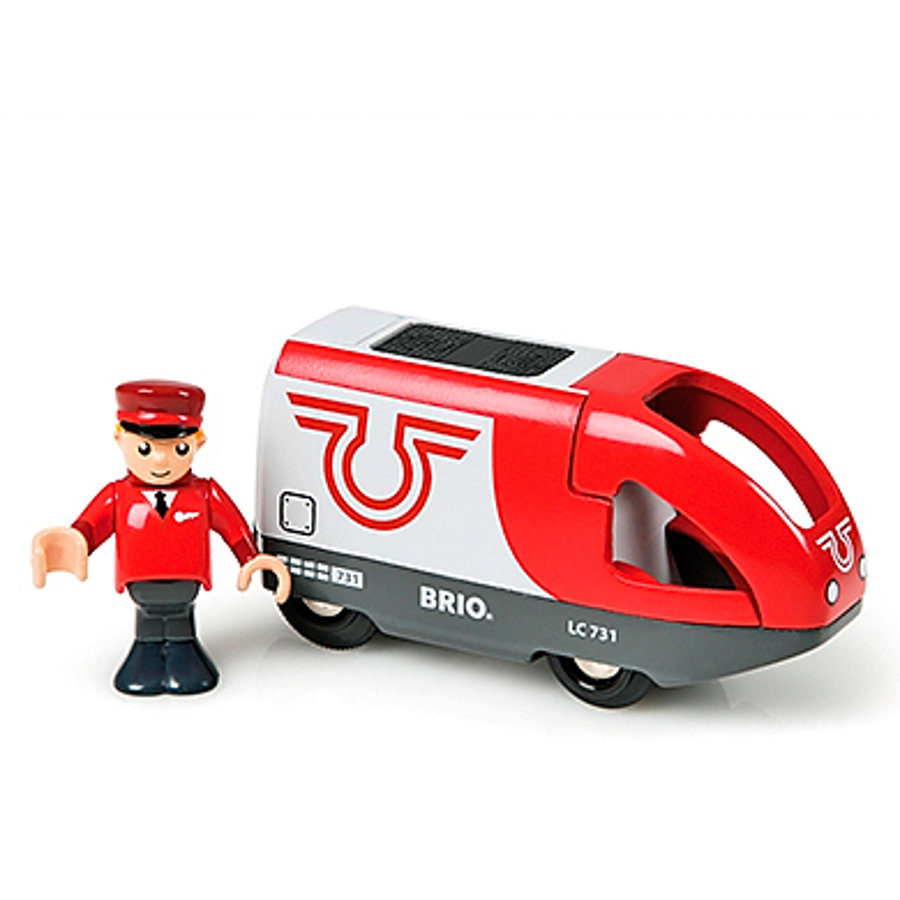 BRIO Locomotive à pile et conducteur