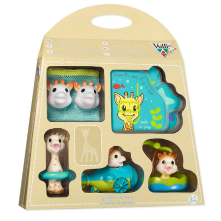VULLI So Pure Sophie la Girafe - Geschenkbox Badespaß