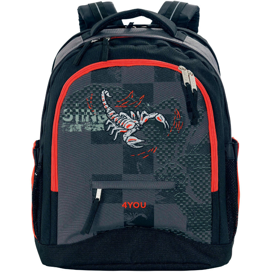 4YOU Flash Rucksack Compact, 438-45 Scorpion
