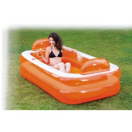 """HAPPY PEOPLE """"Relax und Genießer"""" Pool, 195x122x50cm"""