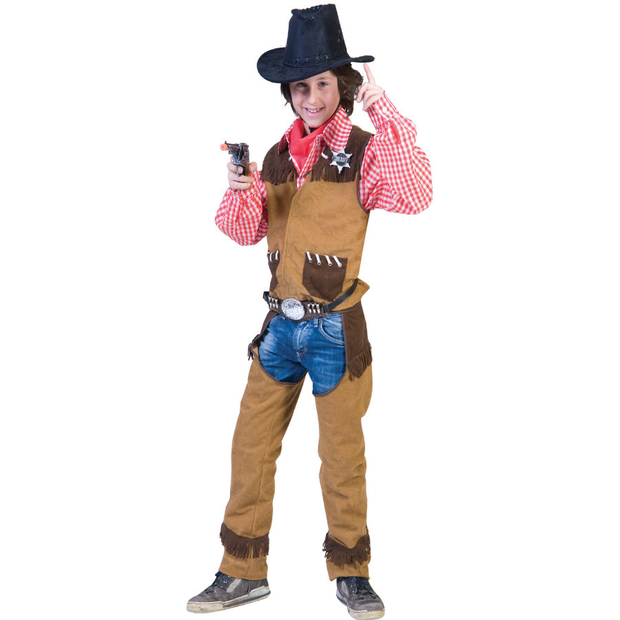 FUNNY FASHION Carnaval Kostuum Cowboy Billy