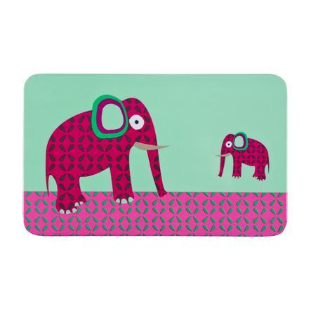 LÄSSIG Melamin Frukostbricka Wildlife Elephant