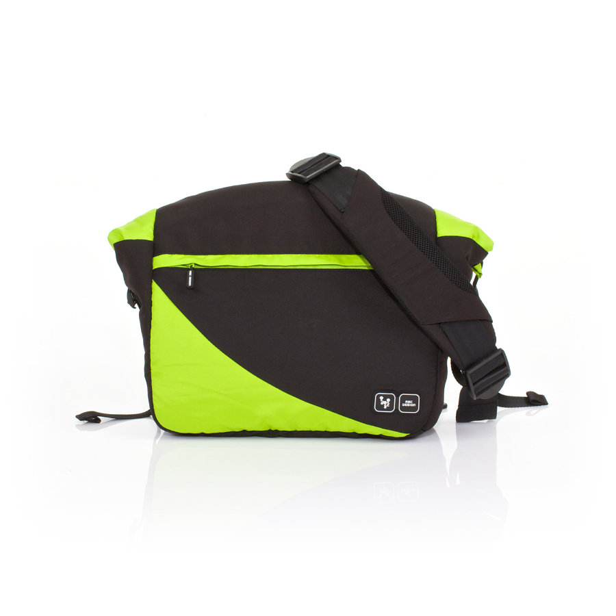 ABC DESIGN Luiertas Courier lime Collectie 2015