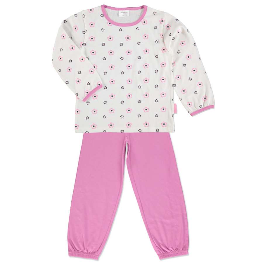 MOONLINE Girls Mini Schlafanzug LONA offwhite