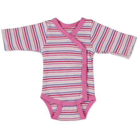FIXONI Girls Preemie Wrap Bodysuit soft pink