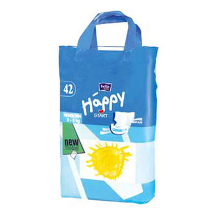 BELLA BABY Happy Newborn Windeln 2-5kg *Sparpack 42er nur 8,99*
