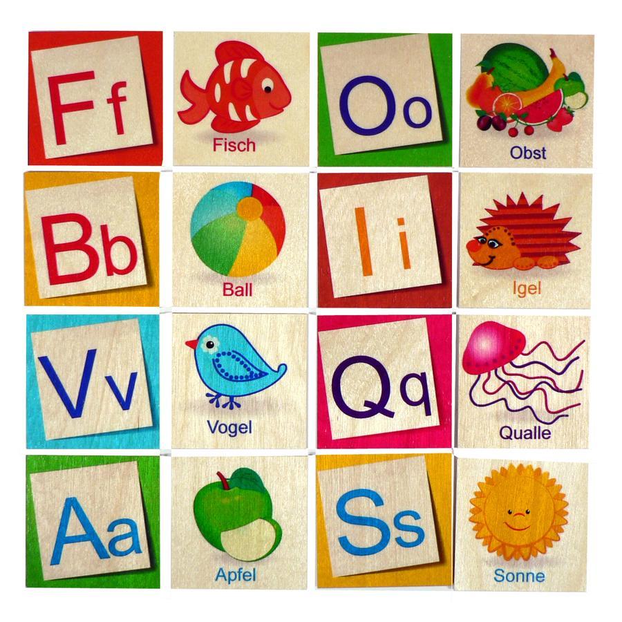 HESS Letters Memo ABC 26 pcs.