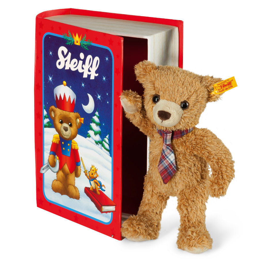 STEIFF Teddy Bear Carlo in Fairytale Book Box