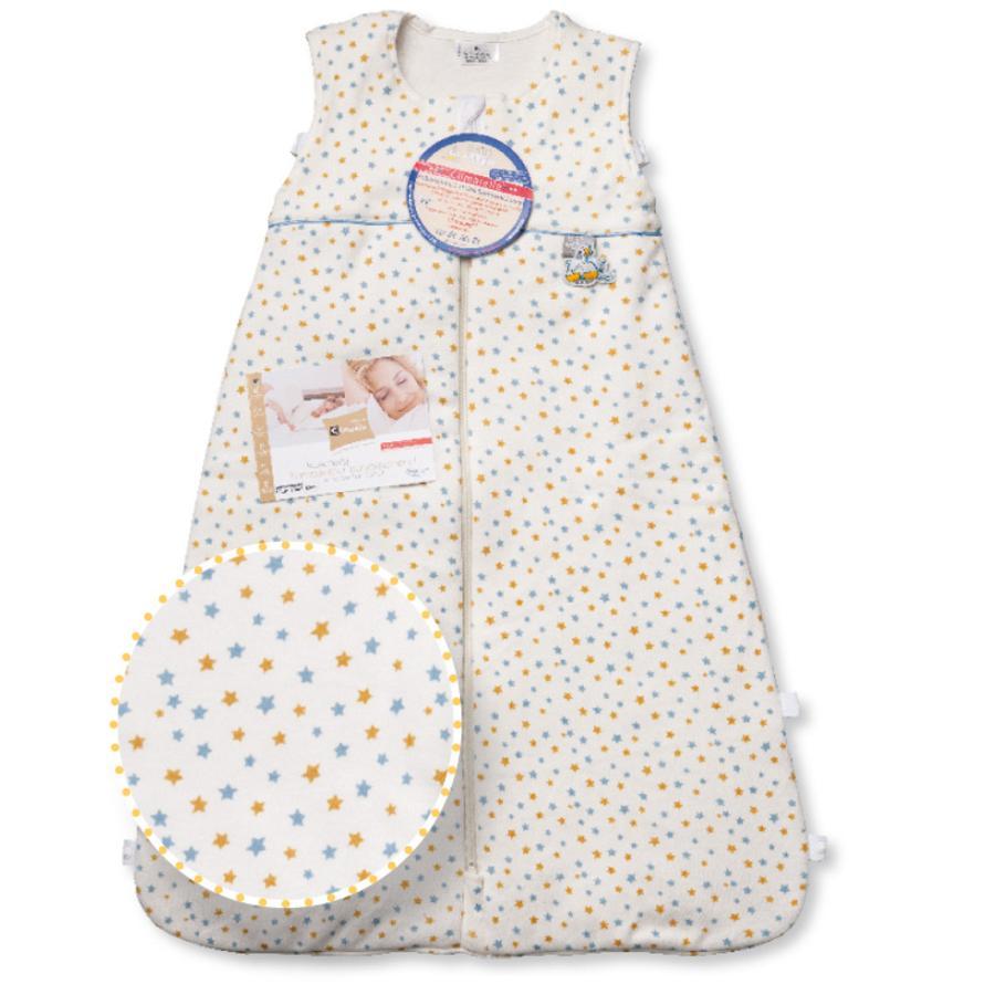 ARO Climarelle & Jersey Vario Kids Schlafsack 70-80cm Sternchen blau-gelb