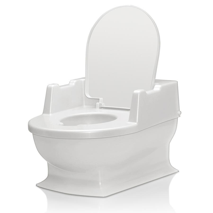 Perleťově bílá dětská toaleta Reer Sitzfritz (4411.0)