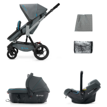 CONCORD Buggy Wanderer Travel Set Stone Grey