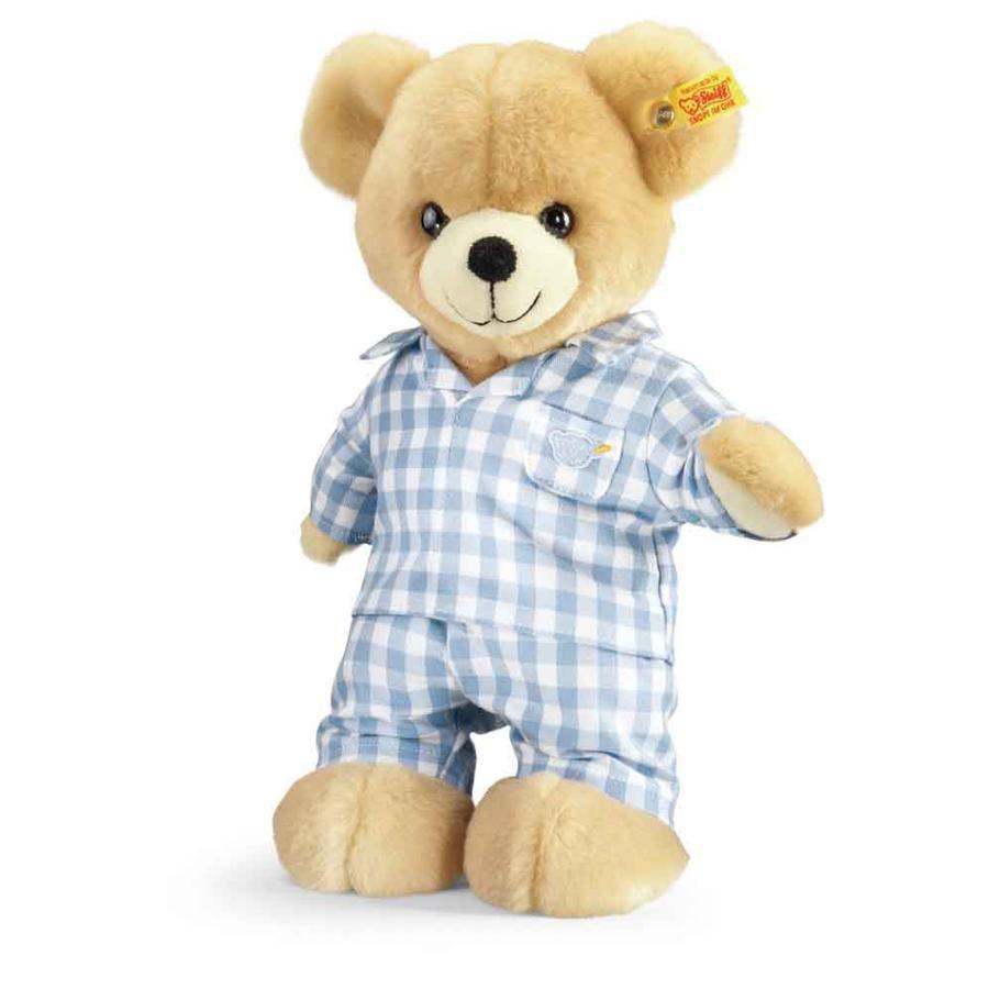 STEIFF Luis, medvídek v pyžamu, 28 cm
