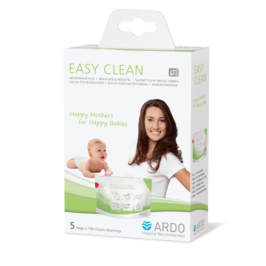 ARDO EasyClean Mikrowellenbeutel 5 Stück