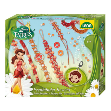 LENA Disney Fairy Freundschaftsbänder - Rosetta