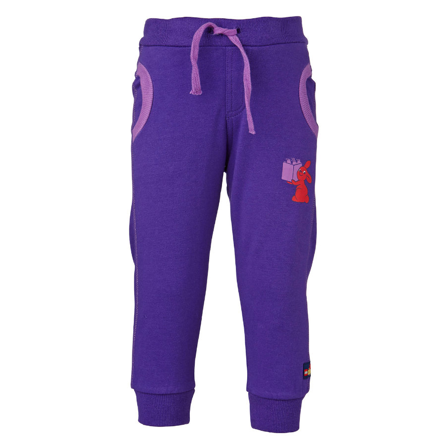 LEGO WEAR Duplo Girls Sweathose PEJA 703 dark lilac