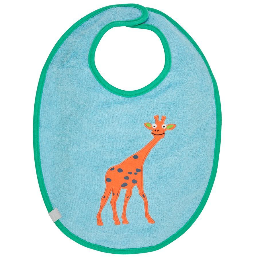 LÄSSIG Waterproof Bib medium, Wildlife Giraffe