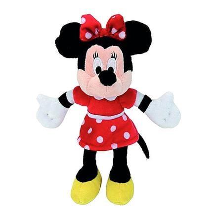 SIMBA Disney Minnie Maus mit rotem Kleid Plüsch 20 cm