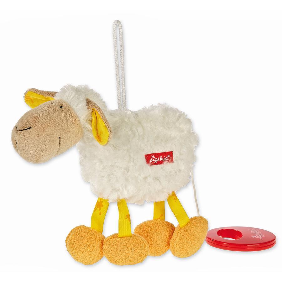 SIGIKID boîte à musique mouton musical