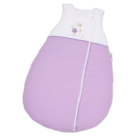 EASY BABY Schlafsack Molton 90 cm Honey bear lila (451-40)