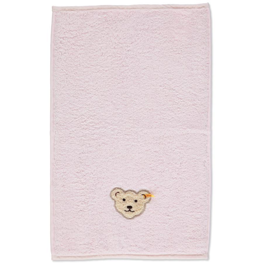 Steiff Girls Baby Handtuch barely pink
