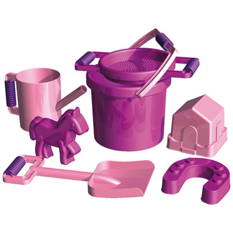 SMG LENA Set jouets de plage enfant Poney 7 pcs.