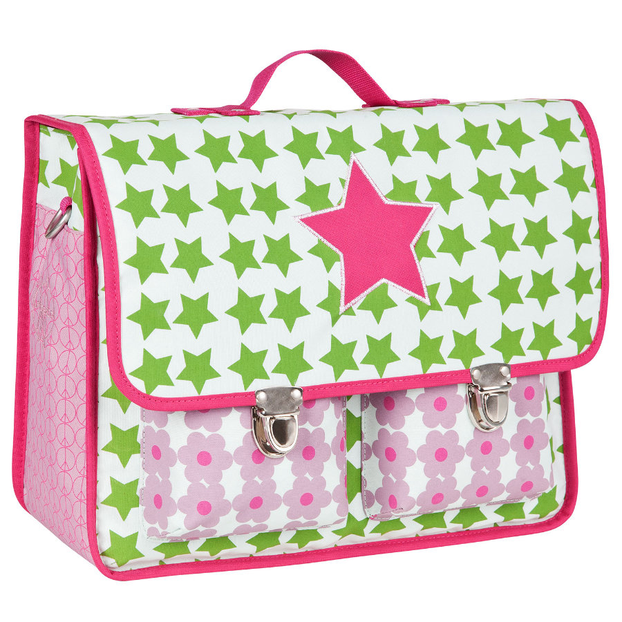 LÄSSIG Mini Retro Bag Starlight magenta