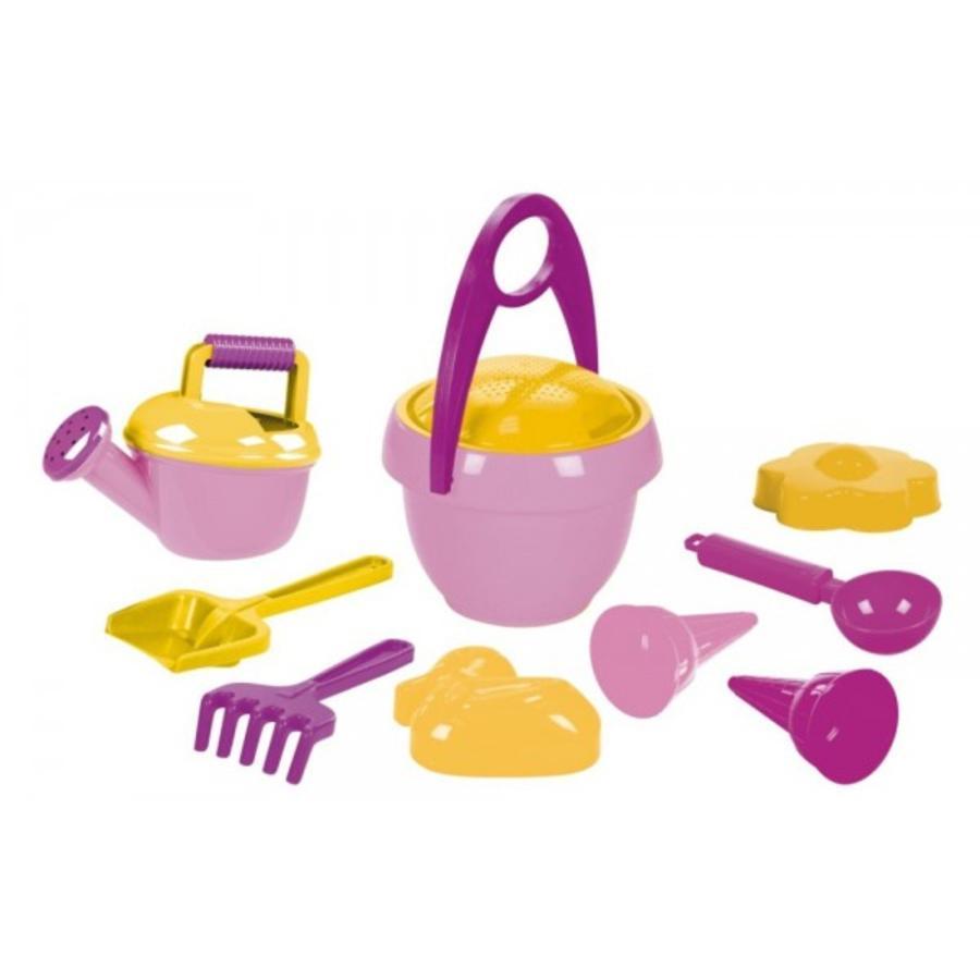 LENA®  Set de juego en la arena para niñas I, 10-piezas