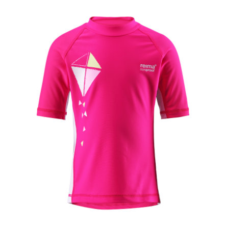 REIMA Girls UV Swim Shirt CRETE fresh pink