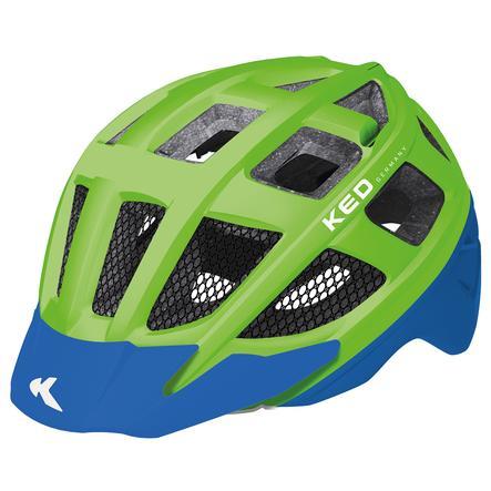KED Cykelhjälm Kailu Green Blue Matt Stl. S/M 49-53 cm