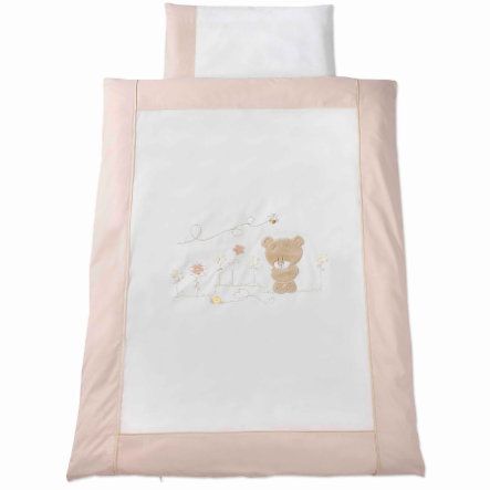 Easy Baby Bäddset 80x80 cm Honey bear  (415-79)