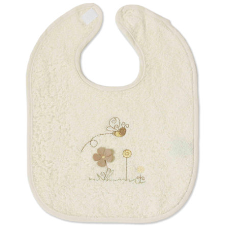 Easy Baby Bavaglino in Spugna con Chiusura in Velcro Honey Bear (361-79)
