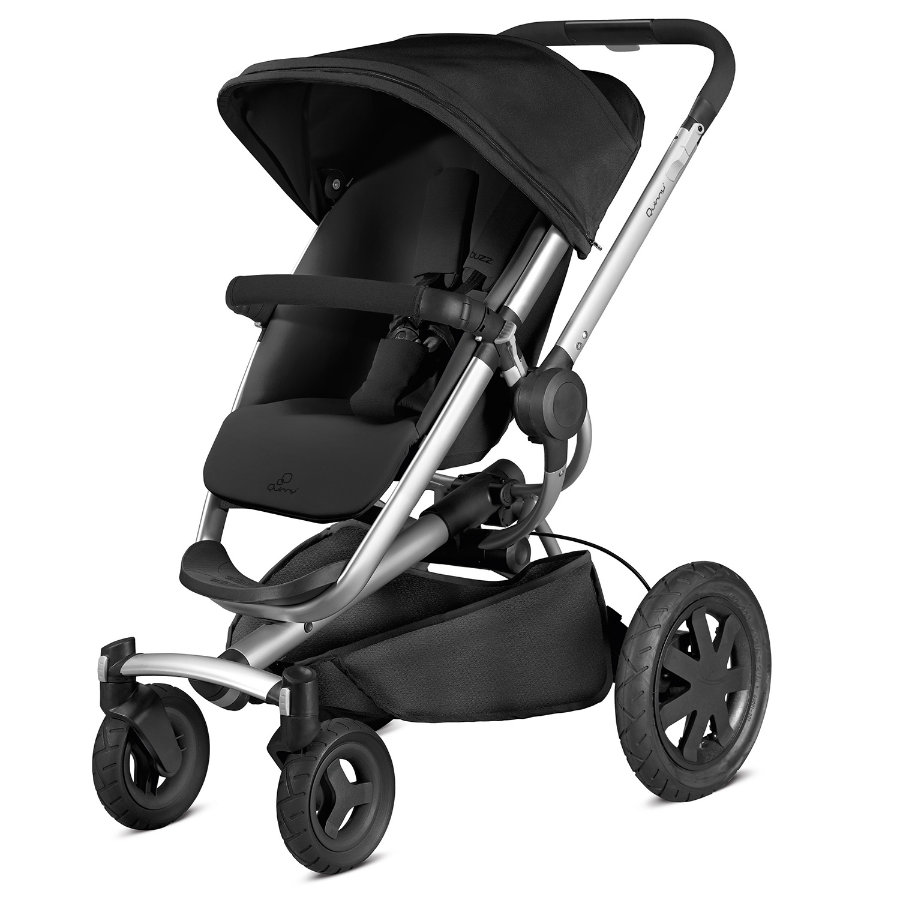 QUINNY Buzz Xtra -rattaat, mallisto 2015, Rocking Black