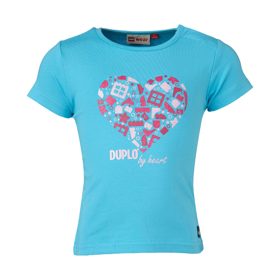 LEGO WEAR Duplo Girls T-shirt TINA 107, turquoise