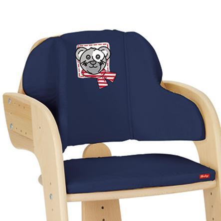 HERLAG Poduszka redukcyjna dla krzesełka Tipp Topp Comfort- kolor niebieski Miś