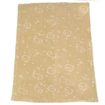 ALVI bavlněná dětská deka nicki farba čokoládová 72x100cm*