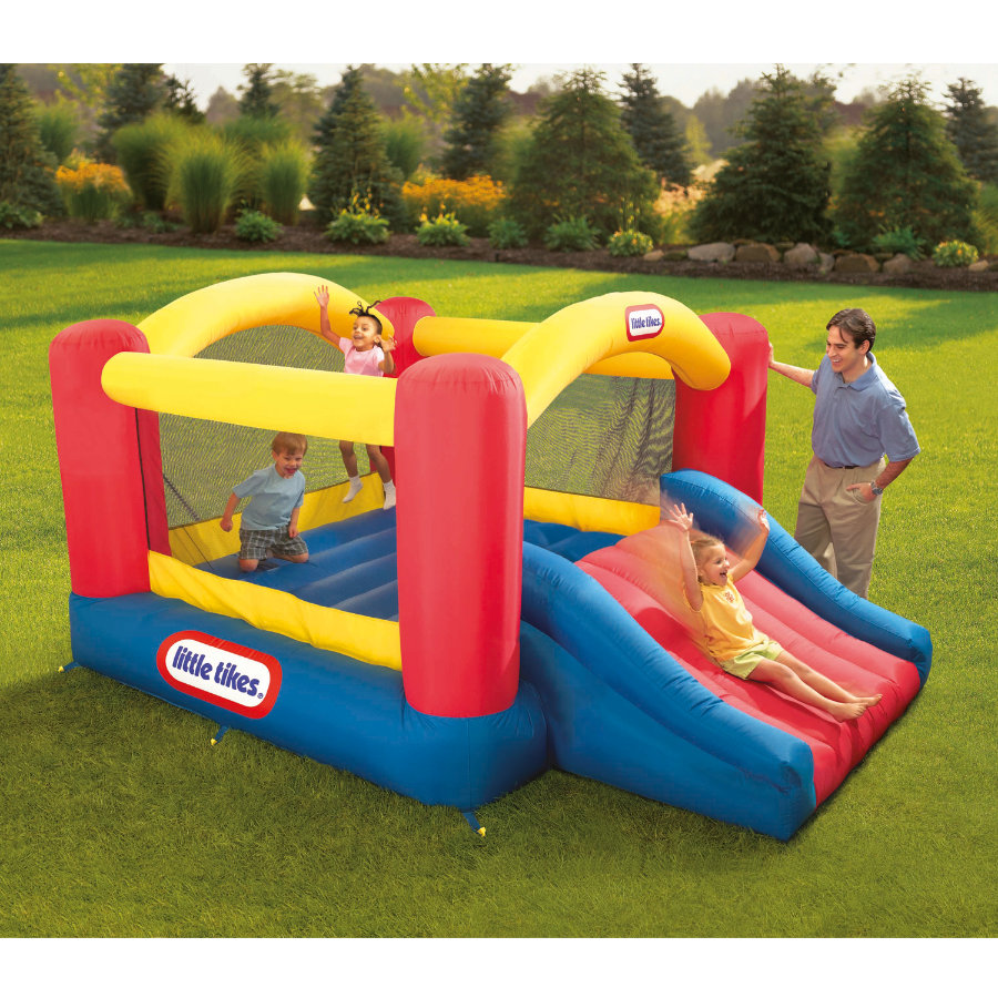 LITTLE TIKES Springkussen - Jump 'n Slide Bouncer