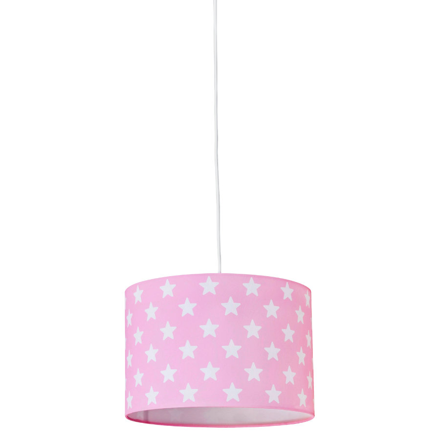 KIDS CONCEPT Taklampa Star, rosa