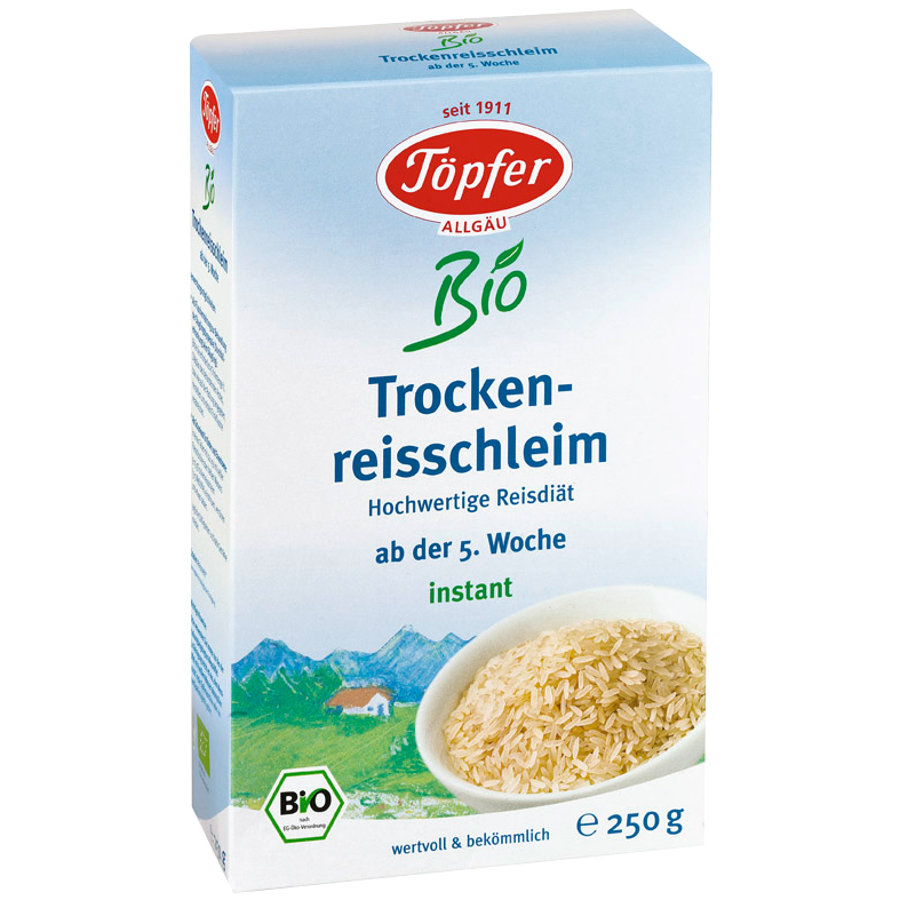 TÖPFER Organic Dry Rice Gruel 250g