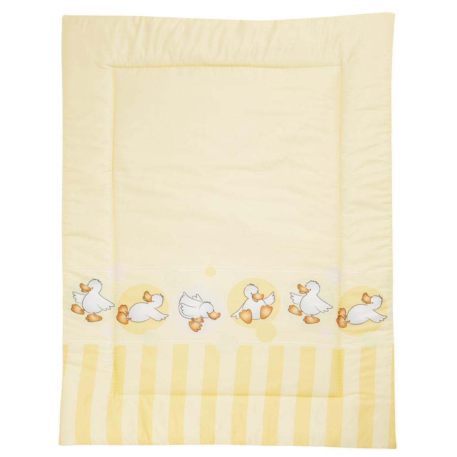 ALVI Couverture de sol Happy Duck, jaune