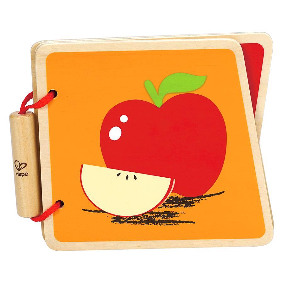 HAPE Baby Książka Owoce