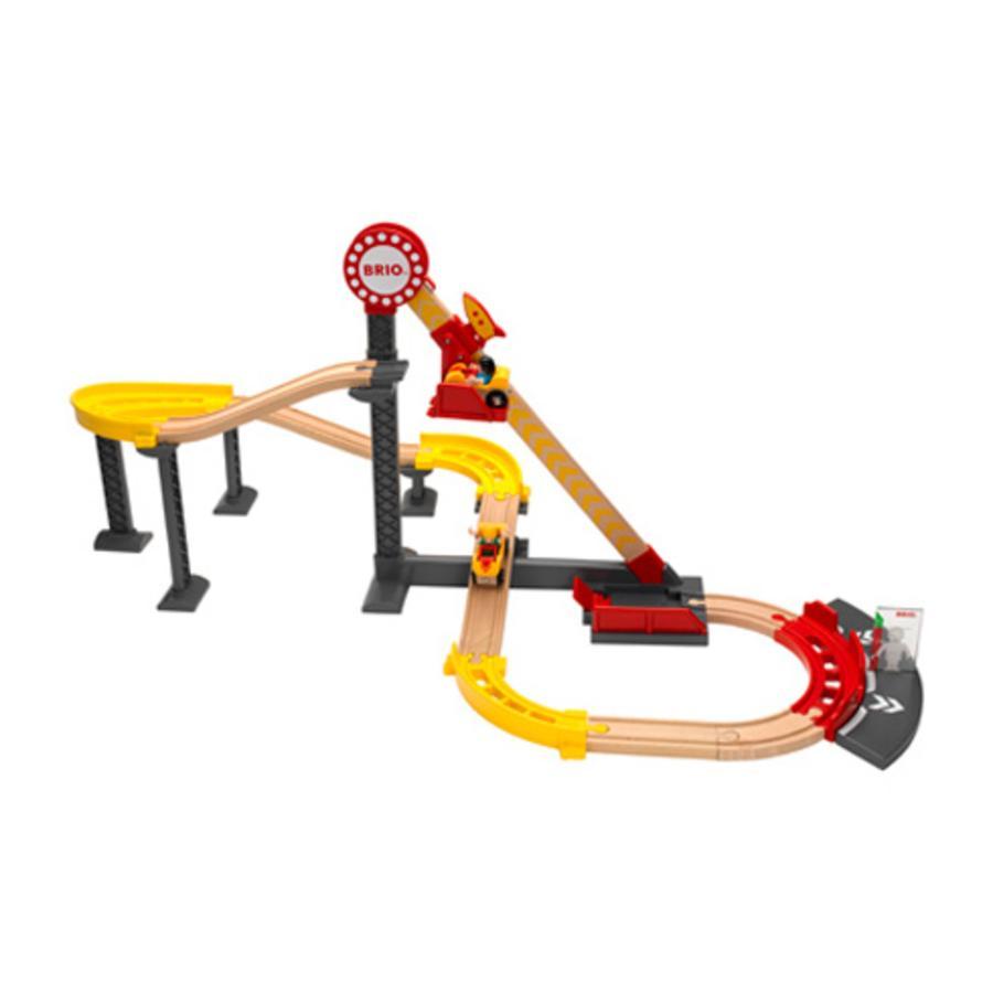 BRIO Rollercoaster Set (Fun Park) 33730
