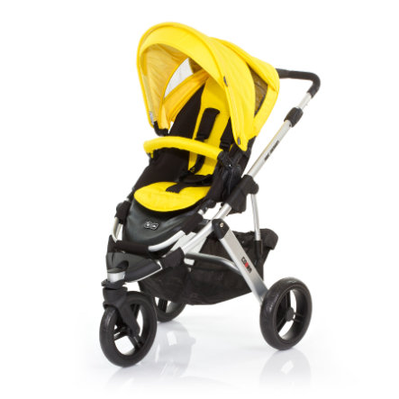 ABC DESIGN Kinderwagen Cobra citro Gestell silver / black