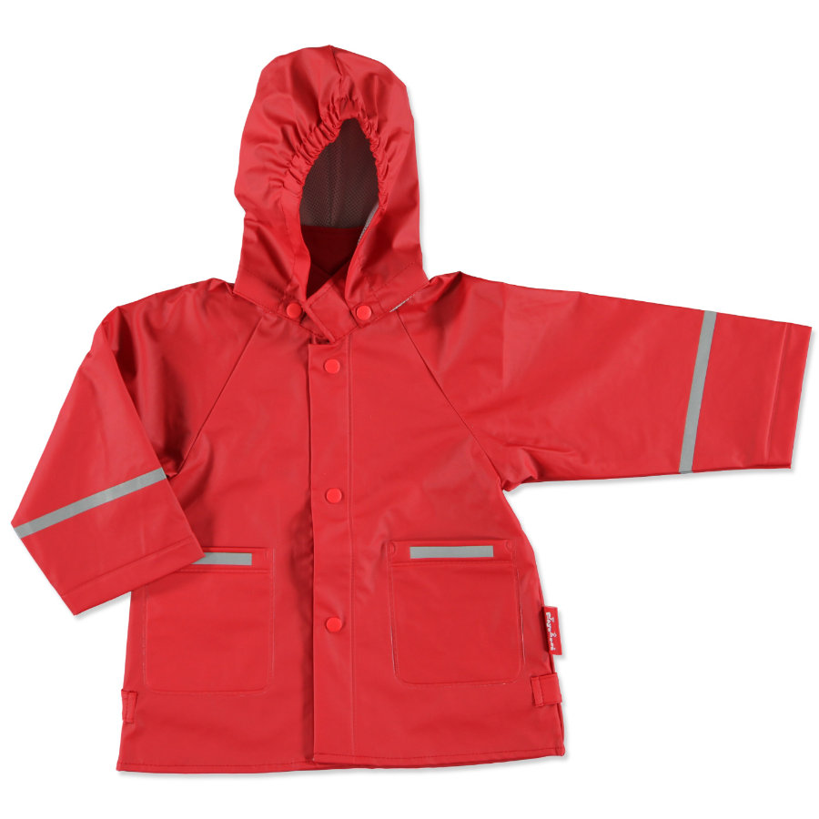 PLAYSHOES Girls Regenjacke rot