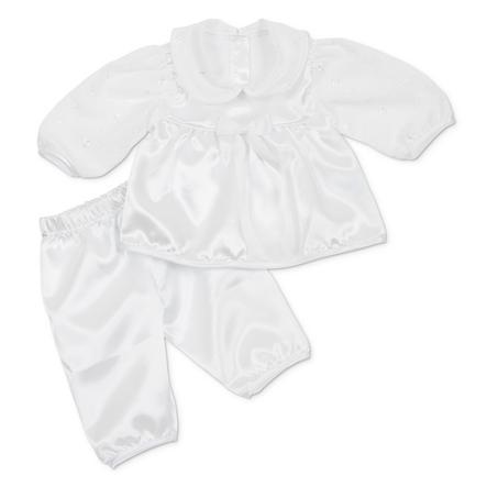 CARLINA Girls Baby Set - Křest 2-teilig weiß