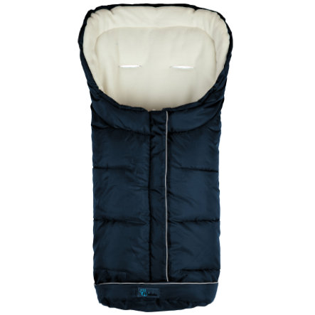 ALTA BEBE Winter Footmuff Standard with ABS (2203) navy/whitewash, Collection 2013/2014