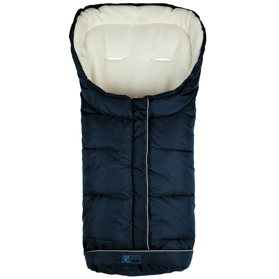 Altabebe Saco cubrepies de invierno Active con ABS azul marino-blanco