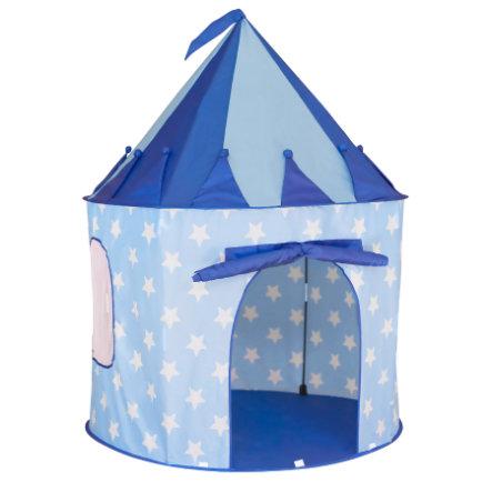 KIDS CONCEPT Play Tent Star, blue