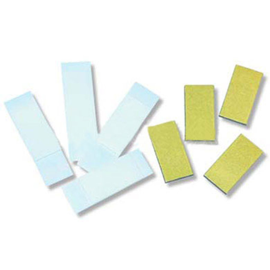 BIECO Strisce adesive e magnete per lettere in legno